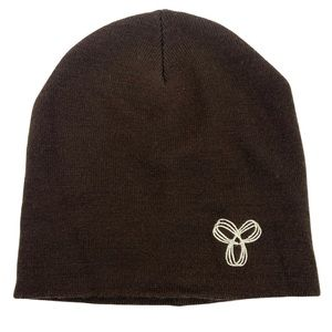 Aritzia Chocolate Brown Wool Beanie TNA Toque Hat